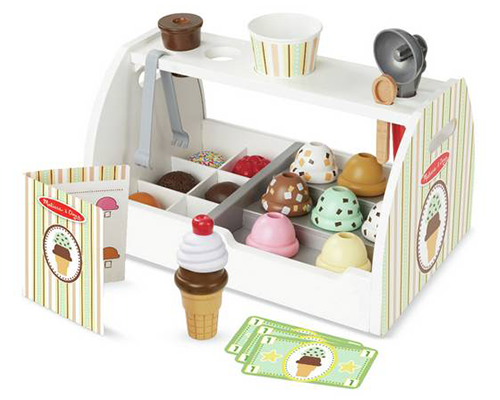 Wooden Ice Cream Counter by Melissa & Doug