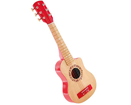 Red Flame Guitar by Hape