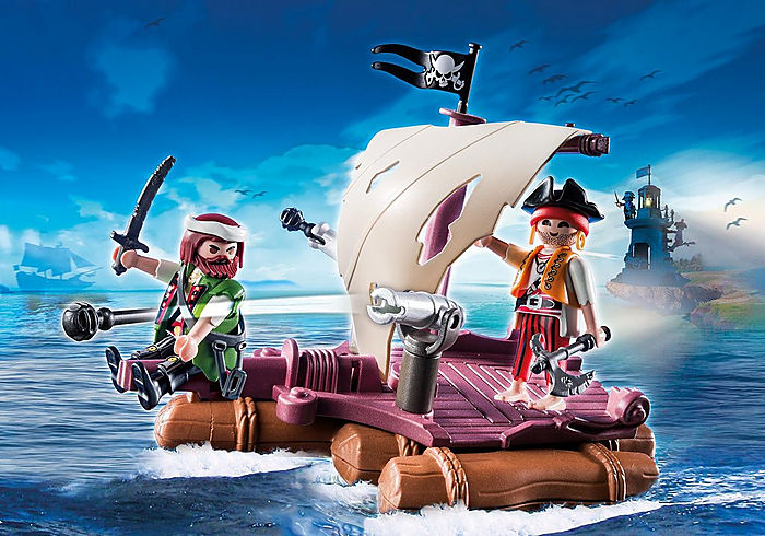 Floating Pirate Raft by Playmobil