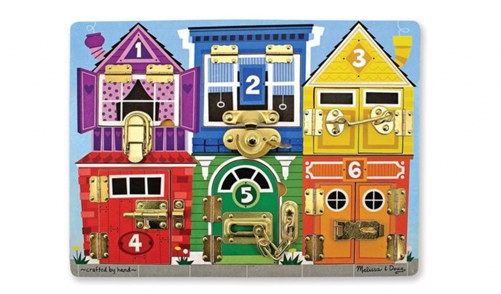 Wooden Latches Board by Melissa & Doug