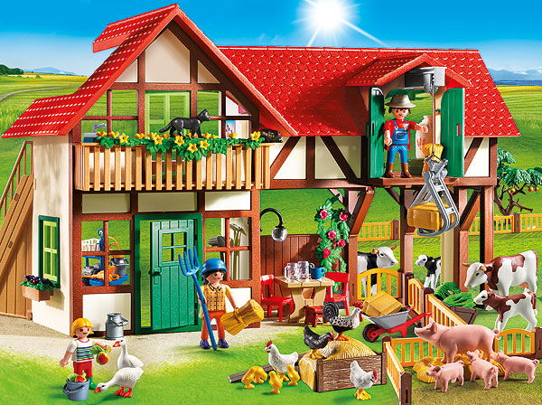 Country Large Farm by Playmobil