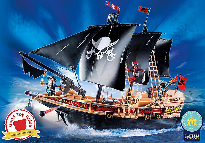 Floating Pirate Raiders Ship with Cannon by Playmobil