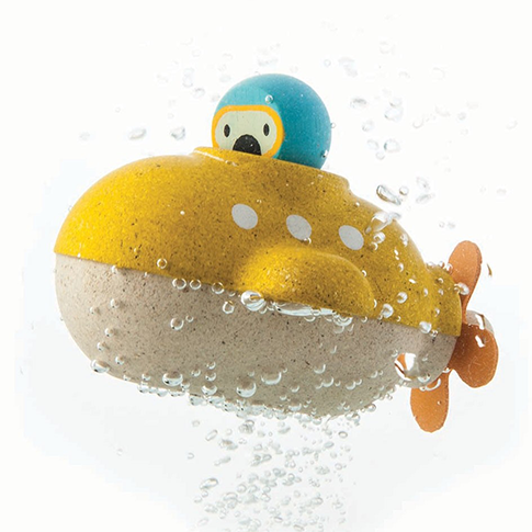 Submarine Bath Toy by Plan Toys