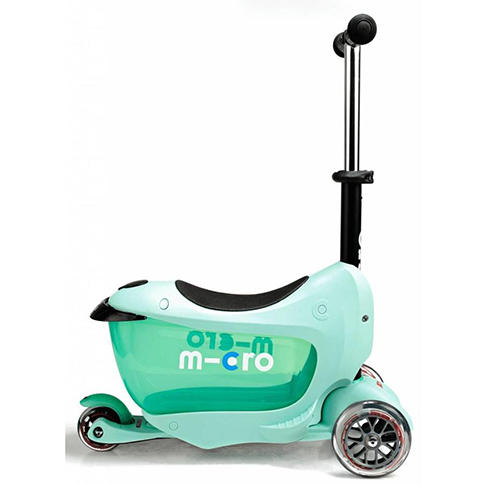 Micro Mini 2 Go Deluxe Scooter (Mint) by Micro