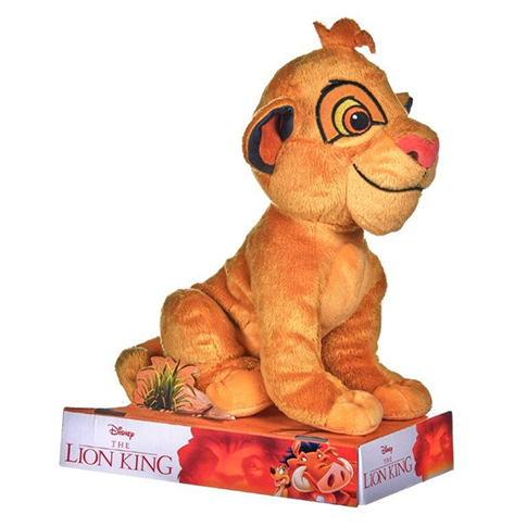 The Lion King Young Simba Plush by Disney