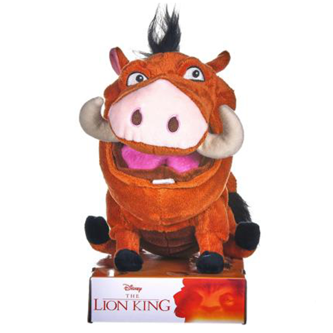 The Lion King Farting Pumba Plush by Disney