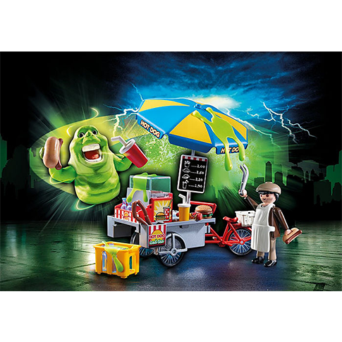 Ghostbusters Slimer with Hot Dog Stand by  Playmobil