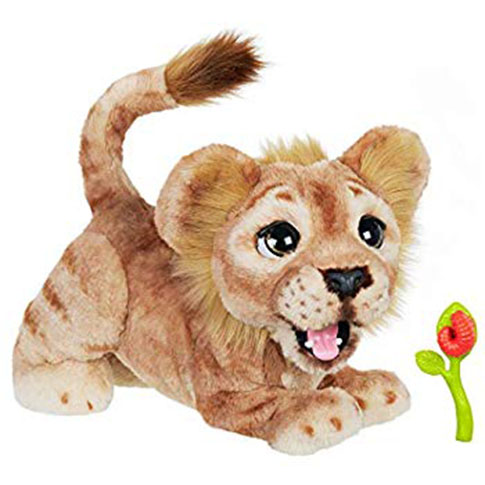 Lion King Mighty Roar Simba Interactive Plush by FurReal