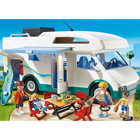 Family Fun Summer Camper by Playmobil