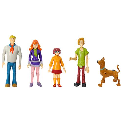 Scooby Doo Mystery Crew Figures