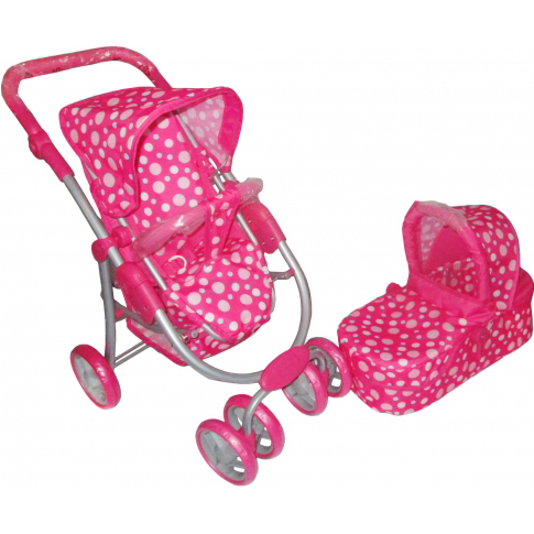 Doll 3 in 1 Pram by A.B Gee