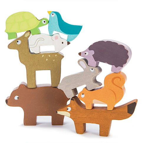 Wooden Petilou Forest Stacker by Le Toy Van