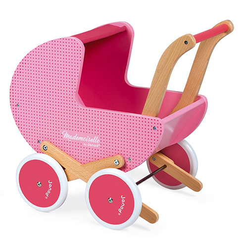 Mademoiselle Doll's Pram by Janod