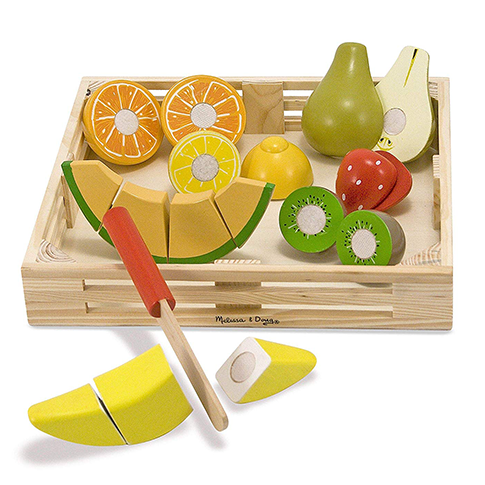 Cutting Fruit Wooden Play Food Set by Melissa & Doug