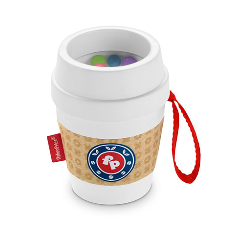 Coffee Cup Teether by Fisher Price