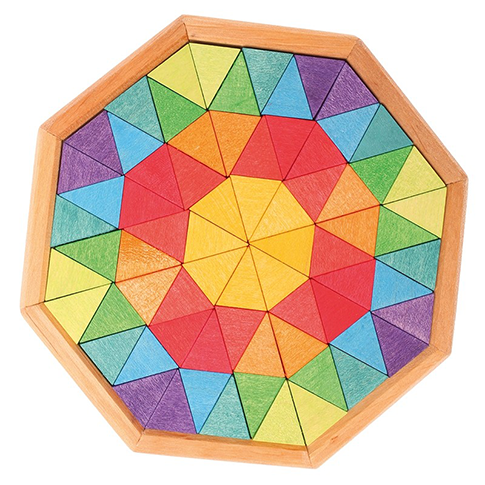 Building Octagon Puzzle by Grimm's